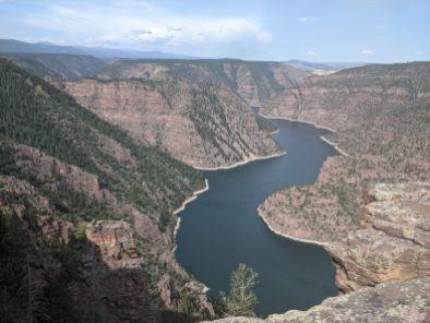 Flaming Gorge Reservoir, upstream from Dinosaur