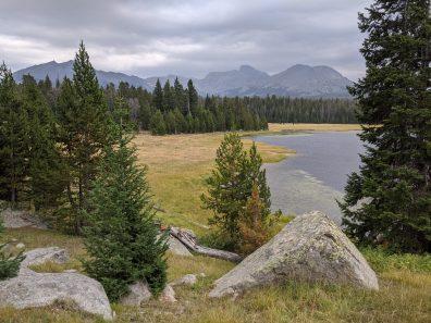 V Lake in the Wind River Range