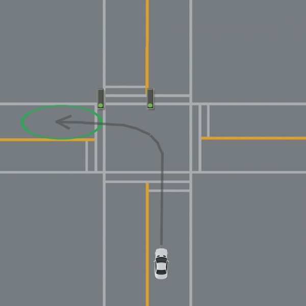 tips to turn left
