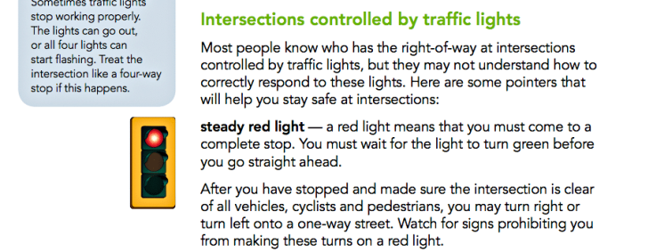 ICBC left turn red light