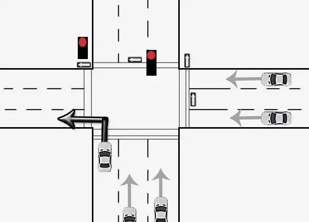 q can i turn left on a red light bc driving blog. Black Bedroom Furniture Sets. Home Design Ideas