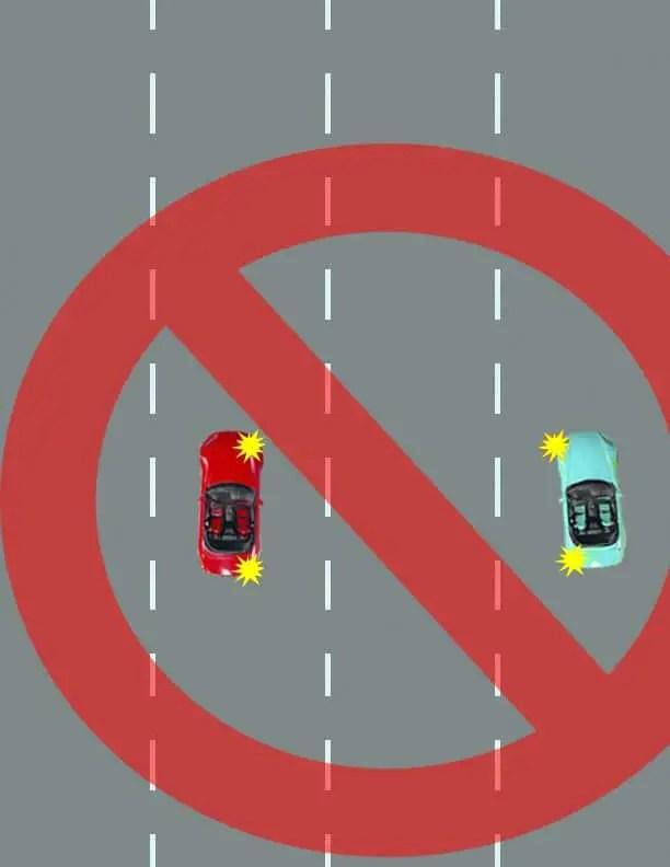 safe lane changing