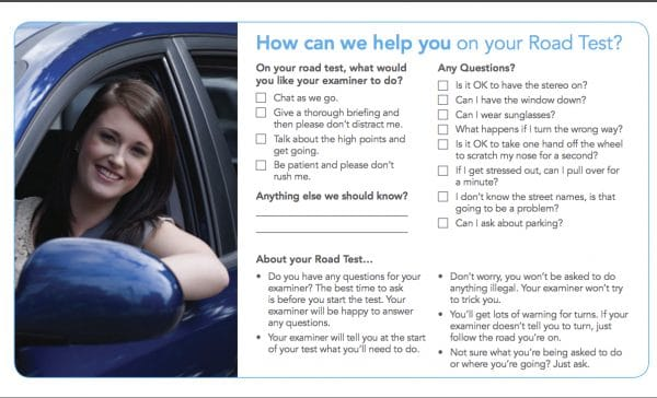 tips from icbc examiners
