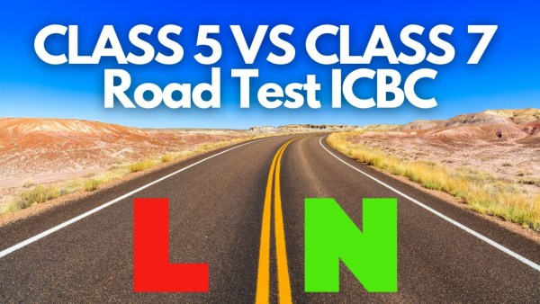class 5 road test ICBC