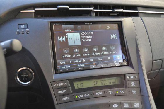 toyota prius audio system problems