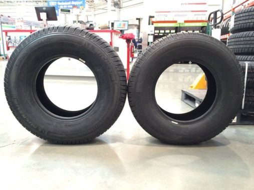what is the difference between 245 and 265 tires