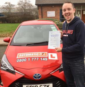 automatic driving lessons in shifnal shropshire