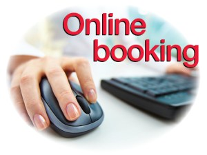 Click to book online