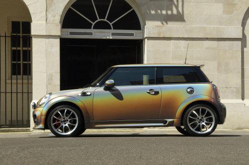 2010 Mini Cooper S Rainbow Colour