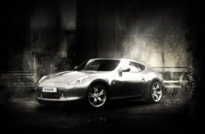 Nissan 370Z On The Top Gear Track