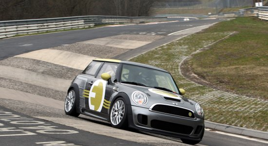 BMW Mini E At Nurburgring