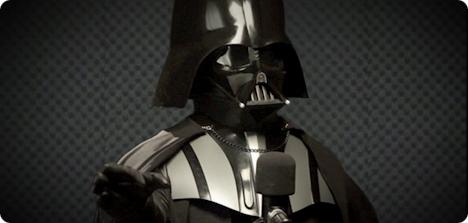 Darth Vader On Tom Tom