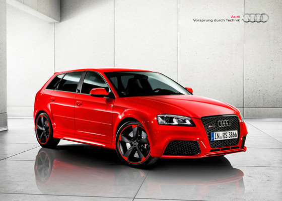 Audi RS3 Black Optics