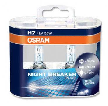 Osram Night Breaker Plus H7 Bulb