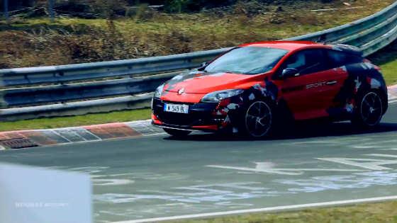 Renaultsport Megane 250 Testing