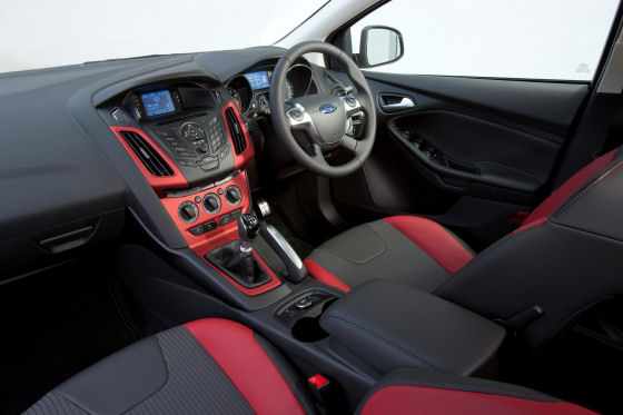Ford Focus Zetec S Interior