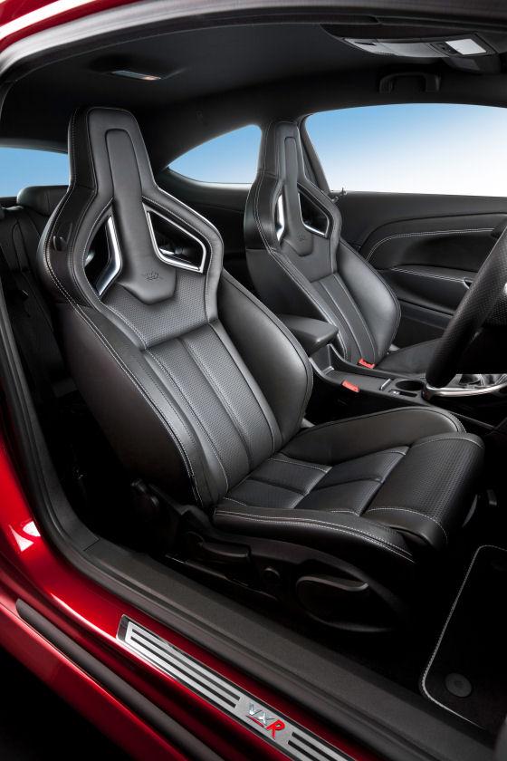 2012 Vauxhall Astra VXR Seat