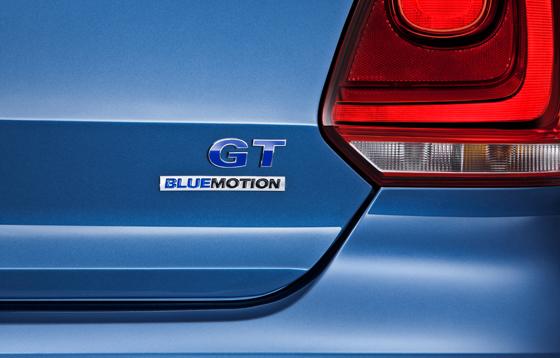 Volkswagen Polo BlueGT Badge