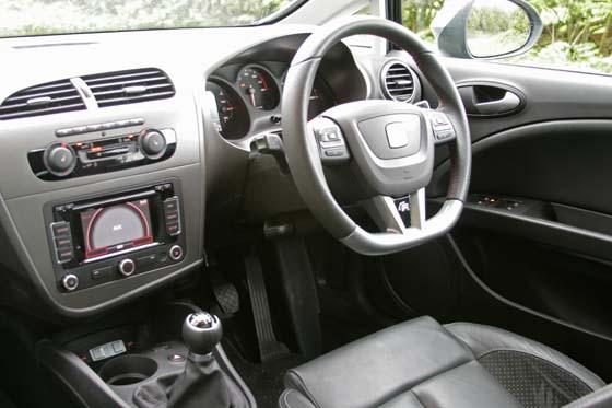 SEAT Leon FR+ Dashboard