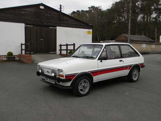 1981 Ford Fiesta XR2i