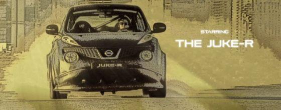 Nissan Juke-R movie