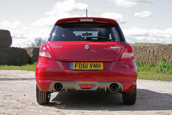 Suzuki Swift Sport Rear