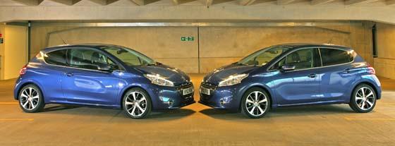 Peugeot 208 3- and 5-door