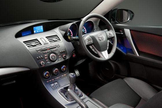 Mazda3 MPS Interior