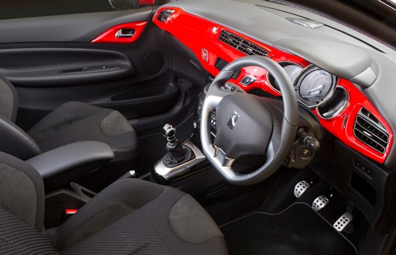 Citroen DS3 Red Interior