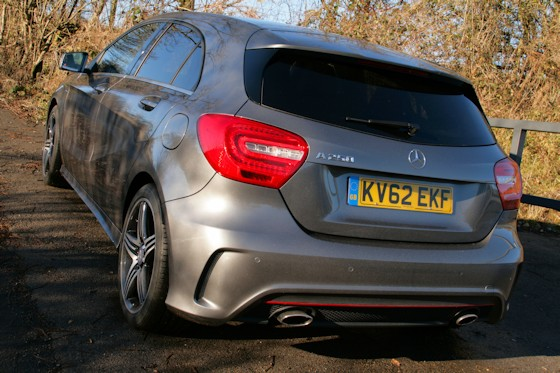 Mercedes-Benz A250 Engineered By AMGRear