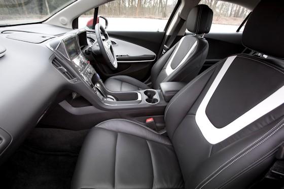 2013 Vauxhall Ampera Interior
