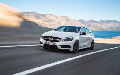 Power War Rages With A45 AMG
