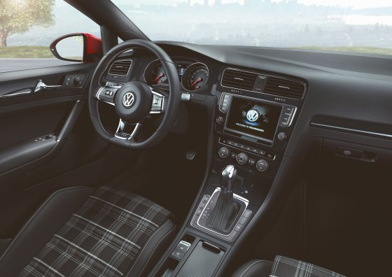 2013 Volkswagen Golf GTD Interior