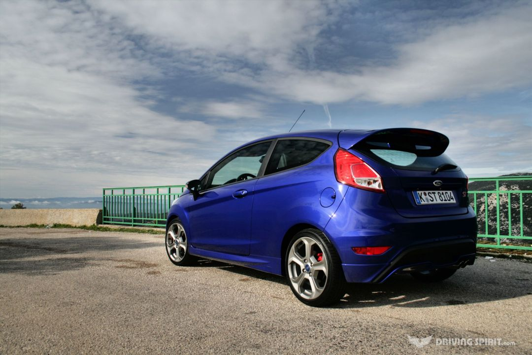 Ford Fiesta ST in French mountains