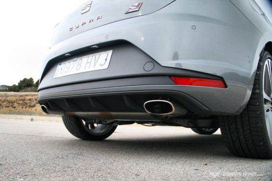 SEAT Leon Cupra 280 Exhaust (2014)