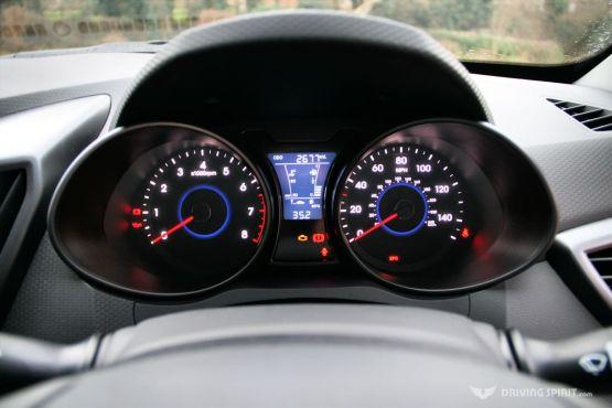 Hyundai Veloster Turbo Instruments
