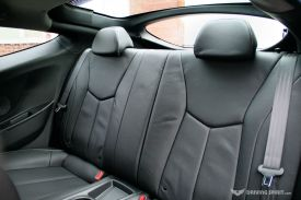 Hyundai Veloster Turbo Rear Seats