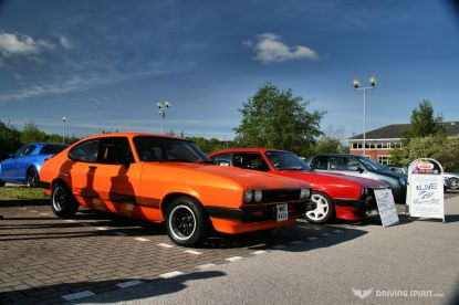 Car Cafe - Capri 2.0S and 3.0S