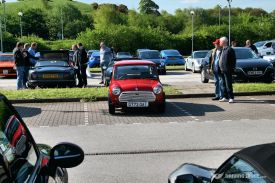 Car Cafe - classic Mini looked lonley