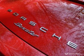 Porsche Boxster 981 Rear Badge