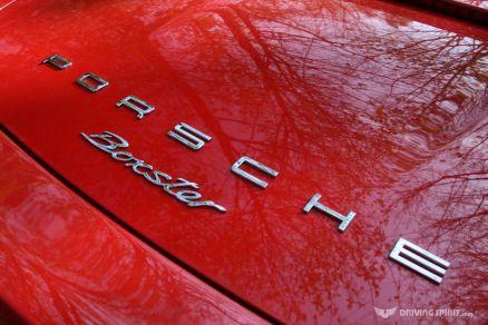 Porsche Boxster 981 Rear Badge