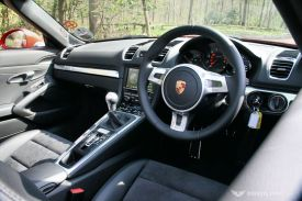 Porsche Boxster 981 Interior