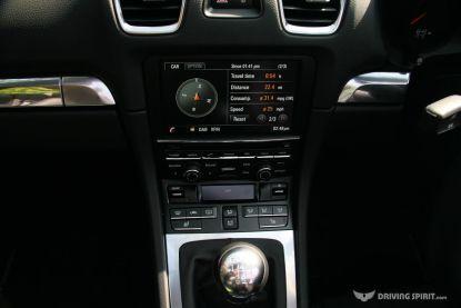 Porsche Boxster 981 Touchscreen