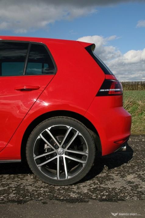Volkswagen Golf GTD Rear Spoiler (2014)