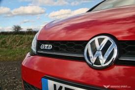 Volkswagen Golf GTD Front Grille (2014)