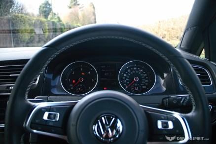 Volkswagen Golf GTD Instrument Cluster (2014)