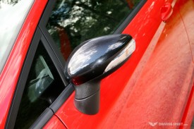Ford Fiesta Zetec S Red Door Mirror
