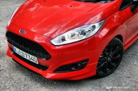 Ford Fiesta Zetec S Red Front Bumper