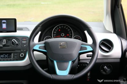 SEAT Mii Toca Steering Wheel (2014)
