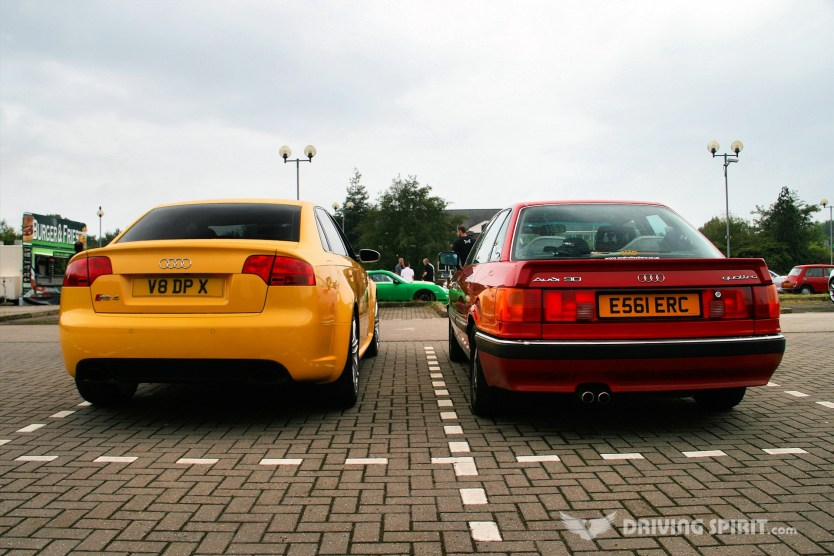 Audi Quattros